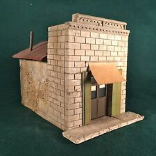 S Scale Building kit-Assay Office by Rich White Models- Hydrocal Walls Only