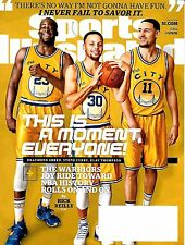 Sports Illustrated March 7, 2016 Warriors Steph Curry,Green & Thompson Cover NEW