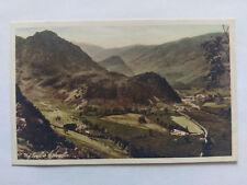 Borrowdale Cumbria Vintage colour Postcard c1920s The Jaws