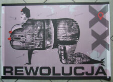 Revolution - Polish Poster - Otto-Wegrzyn