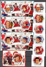 Chad 2014 Ice Hockey Famous Players set of 6 + 4 S/S MNH** Privat !