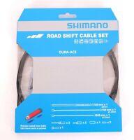 Shimano Road Optislick Derailleur Cable and Housing Set Orange