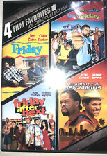 4 Film Favorites Ice Cube Collection (DVD 2008) & Barbershop Dvd Free Shipping
