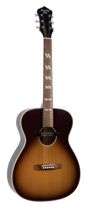 Recording King ROS-7-E-TS Dirty 30's 000 Size Guitar in Tobacco Sunburst Finish