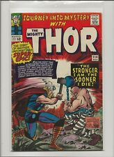 Journey Into Mystery 114 VG 4.0 Thor Origin & 1st Absorbing Man Jack Kirby 1965
