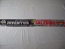 sciarpa RED BULL SALZBURG - JUVENTUS europa league 2011 football club scarf