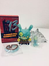 """Kidrobot Dunny 2017-The 13 GID Series """"#3 Hay-Man"""" by Brandt Peters"""