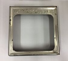 Vintage Maryland Biscuit Company Box Lid Top Baltimore MD General Store Cookies