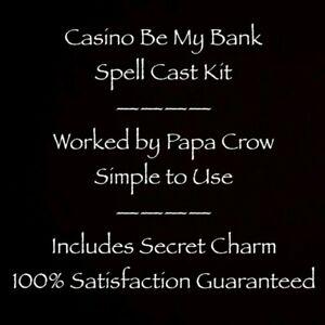 Casino Be My Bank Gambling Voodoo Prayer Money Poker Slots Vegas Win Money Kit
