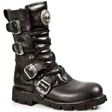 NEW ROCK Newrock Unisex Punk Boots Style M.1473 S1 Black Reactor