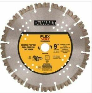 "Brand New DEWALT DWAFV8900 9"" FLEXVOLT DIAMOND CUTTING WHEEL"
