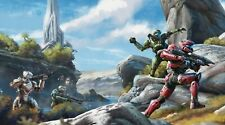 "XBOX 360 PS3 PS4 HALO MASTER CHIEF 13""X19"" POSTER PRINT GAME ROOM #4"