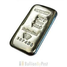 More details for metalor 250 gram silver bullion bar