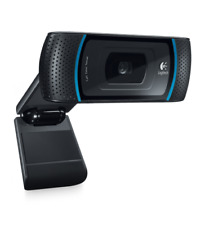 Logitech B910 HD Webcam with Carl Zeiss Lens C910 Free Recorded Built Microphone