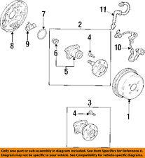 GM OEM Rear Brake-Hydraulic Flex Hose 94856336