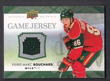 Pierre-Marc Bouchard 2007-08 Upper Deck Game Worn Jersey Card
