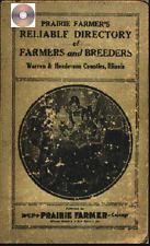Warren and Henderson Co IL  Illinois genealogy history Farm directory CD