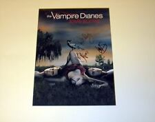 "THE VAMPIRE DIARIES CASTx3 PP SIGNED POSTER 12""X8"" IAN SOMERHALDER , PAUL WESLEY"