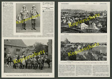 Wilhelm II. Orient travel Bodyguard Tropical Uniform Officers Barracks Potsdam 1898
