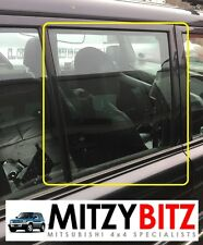 MITSUBISHI SHOGUN PININ 5DR OSR DRIVERS REAR DOOR WINDOW DROP GLASS