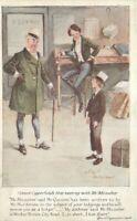 C-1910 Charles Dickens David Copperfield Mr. Micawber Postcard Faulkner 21-1080