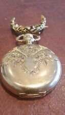 Elgin Model 2 Pocket Watch - Keystone Hunter Case 14K - Lapel Pin