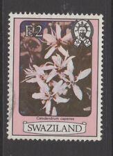 SWAZILAND 1980 2E FLOWERS Nice Used