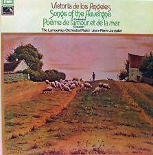 VICTORIA DE LOS ANGELES Songs Of the Auvergne LP