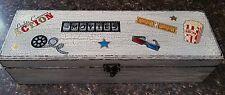 Lights, Camera, Action Remote Control Box, Remote Control Storage box Hand Made