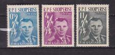 Albania : The first Spaceflight ( Yuri Gagarin ) 1962 MNH