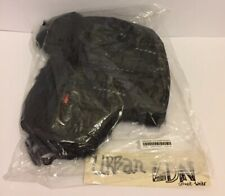 Supreme Dimensions Logo Denim Trooper Hat BLACK *Brand-New*