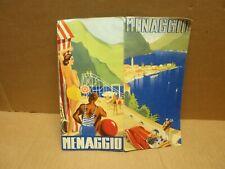 MENAGGIO (Italie) dépliant touristique illustré vers 1930