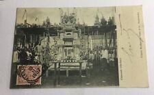 Chineesch Offerfeest , Carte Postale Chine 1907