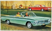 1961 Oldsmobile F-85 Cutlass Convertible and Coupe Postcard