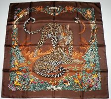 Hermes Jungle Love Silk Carre Scarf 90 New in Box Unworn 17yrs eBay eBoutique
