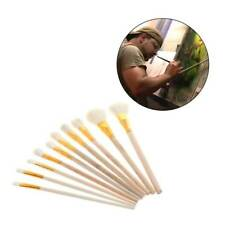 Artist Fan Brushes Wooden Handle Pens Set for Oil Acrylic Water Painting Tools