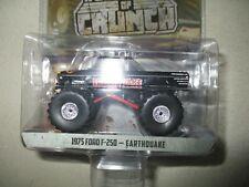 Miniature 1/64 Greenlight Monster Truck 1975 Ford F 250 Earthouake