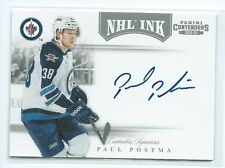 2011-12 Contenders Paul Postma NHL INK AUTO AUTOGRAPH RC JETS