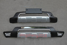 2PCS Front Bumper / Rear Bumpers Bars Guard Board Cover Trim For Kia Sorento