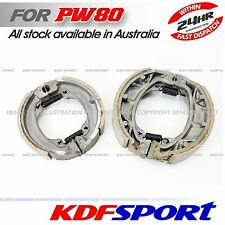 KDF PW80 PY80 PEEWEE FRONT BRAKE SHOES FOR YAMAHA 80 PW BIKE PART REAR SHOE BACK