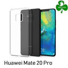 For Huawei Mate 20 Pro Case Cover Crystal Clear Gel Protective Silicone Case