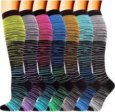 Compression Socks S~XL 20-30 MmHg for Mens Womens Medical,Nursing,Running,Travel