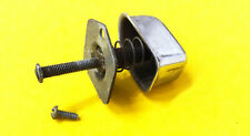1952-56 Ford Door Handle Push Button COMPLETE PLUNGER ASSEMBLY Spring Mtg Plate