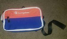 Brand New CHAMPION Blue Color Block Sling Shoulder Waist Fanny Pack Bag
