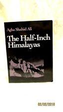 1987 Wesleyan New Poets The Half Inch Himalayas by Agha Shahid Ali paperback
