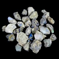 29.00Cts.100%Natural Ethiopian Opal Rough Wholsale Lot Loose Gemstone