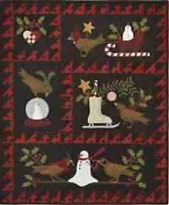 Bertie's Winter Christmas Wool/Woolies Applique Complete Quilt Pattern (Not Kit)