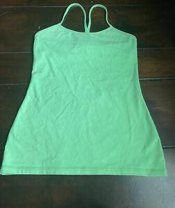 Lululemon Women's Athletic Tank - Size 8 - Bright Green
