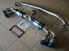 Fits Nissan GTR R35 09-18 TOP SPEED PRO-1 Performance Upgrade Exhaust System