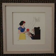 S/O Snow White Wicked Witch & and Apple The Hag Disney Treasures Etching Print